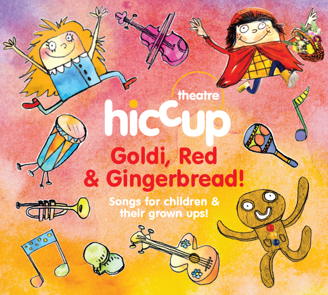 Goldi Red & Gingerbread Album Cover